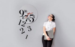 administrar o tempo